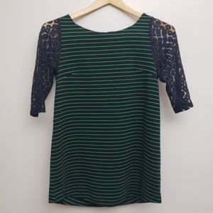 Postmark by Anthropologie Green and Blue Sz S